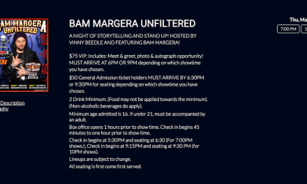 "West Side Comedy Club cancelled Bam Margera's NYC stand-up debut after ""Jackass"" of a day"