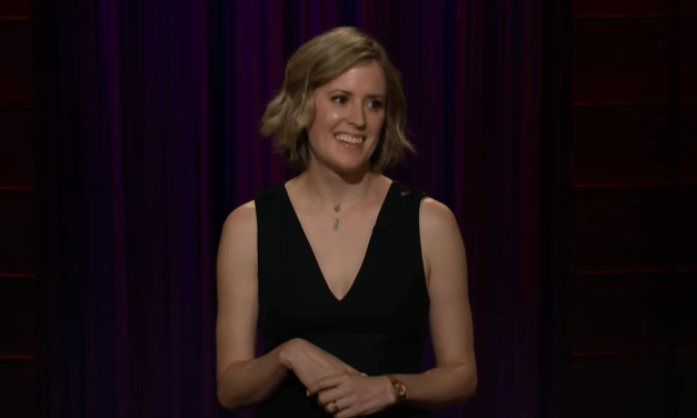 Sarah Tollemache on The Late Late Show with James Corden