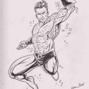 Aquaman by Damon Bowie