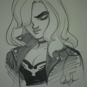Black Canary by Babs Tar