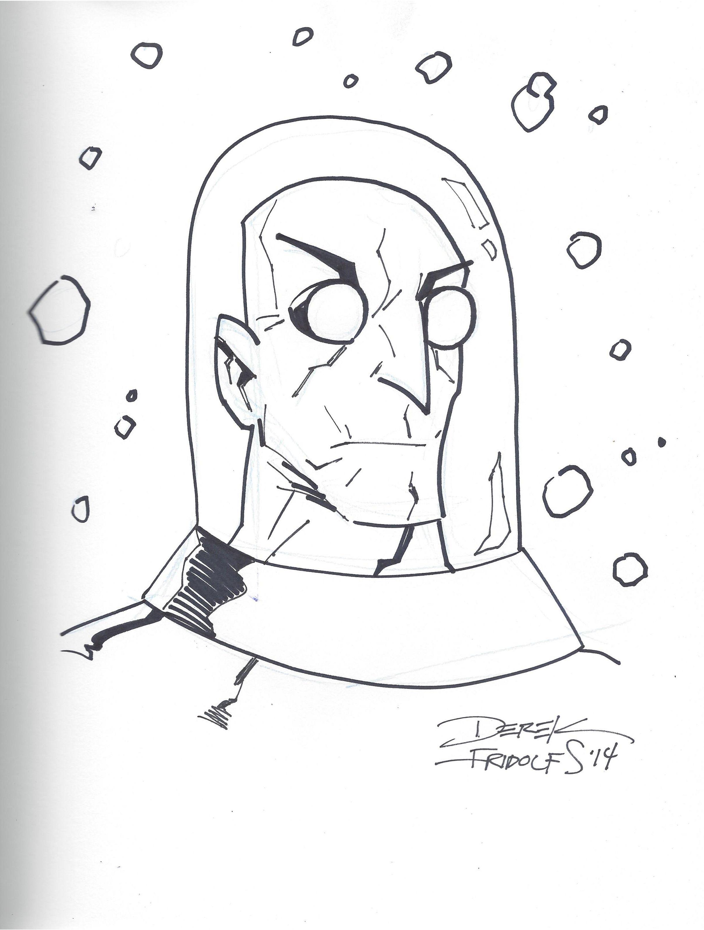 Mr. Freeze by Derek Fridolfs