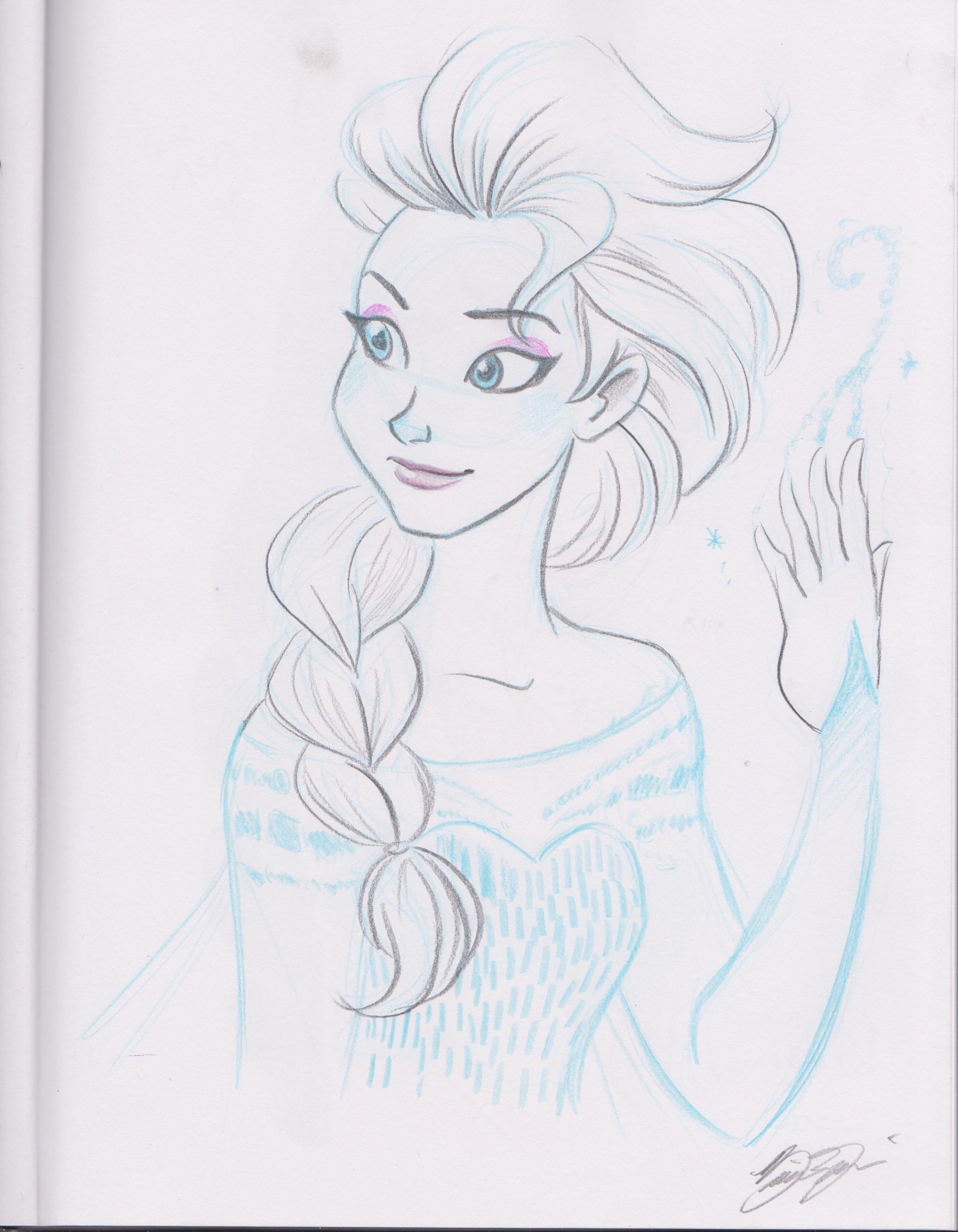 Queen Elsa by Brianna Garcia