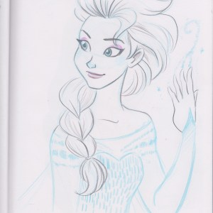 Queen Elsa by Brianna Garcia