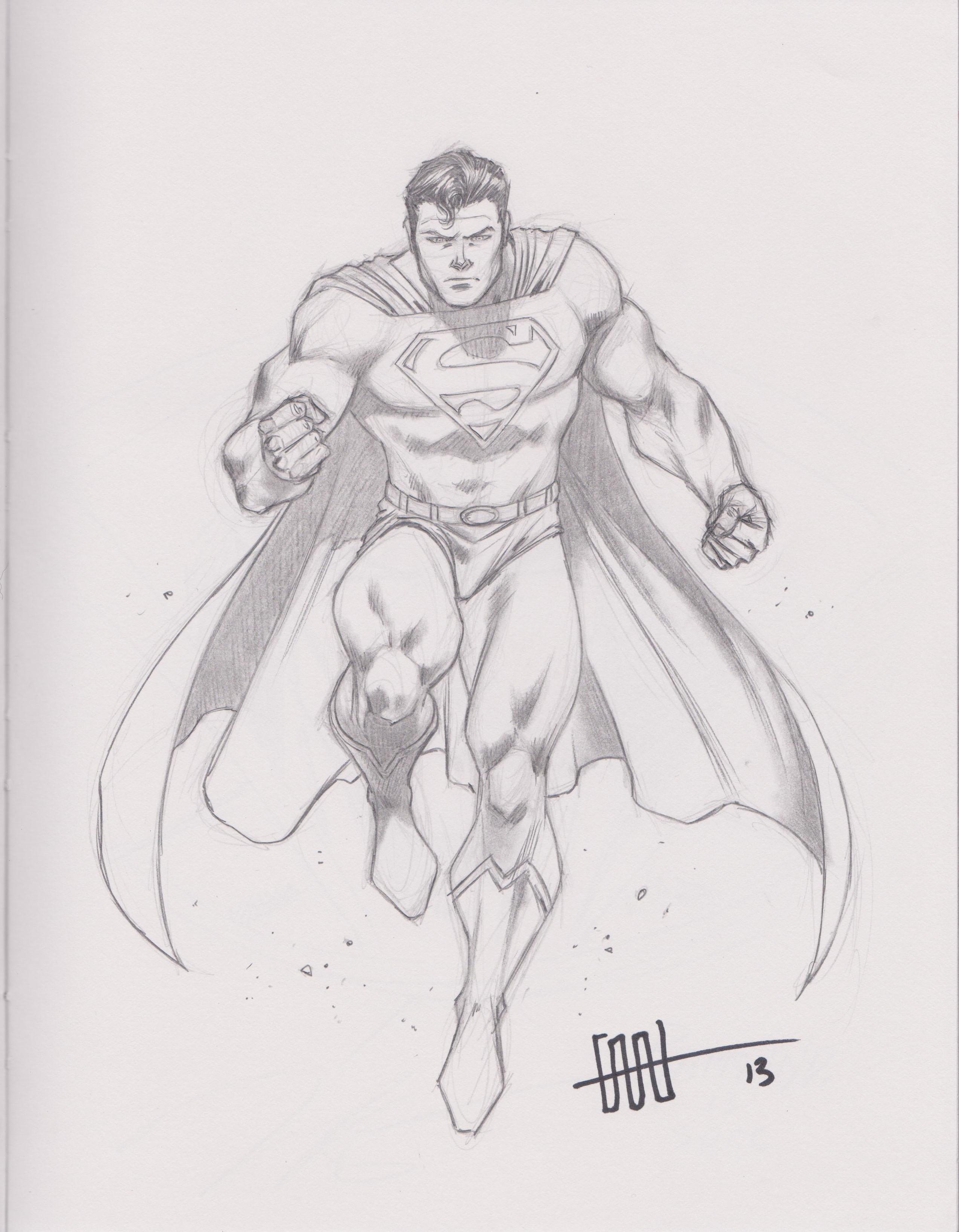 Superman by Cafu