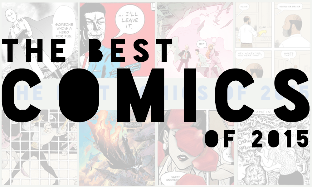 The Comic Source Podcast 052 Best of 2015
