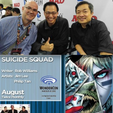 The Comic Source Podcast 077 The Wonder Con Files Jim Lee & Philip Tan Interview