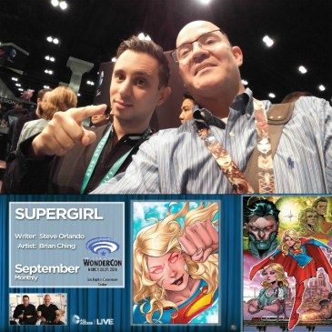 The Comic Source Podcast 086 The Wonder Con Files Steve Orlando Interview