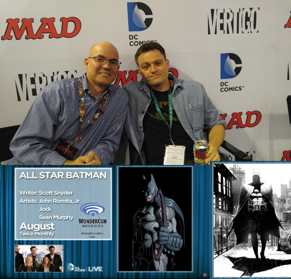 The Comic Source Podcast 087 The Wonder Con Files Scott Snyder Interview