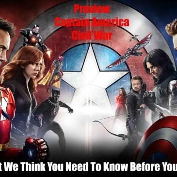 The Comic Source Podcast 097 Captain America Civil War Preview & JLS vs Teen Titans review