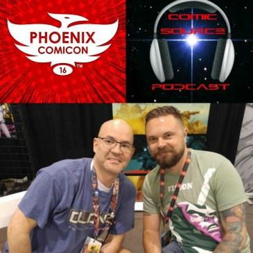 The Comic Source Podcast Episode 110 Phoenix Comicon Interview Mitch Gerads