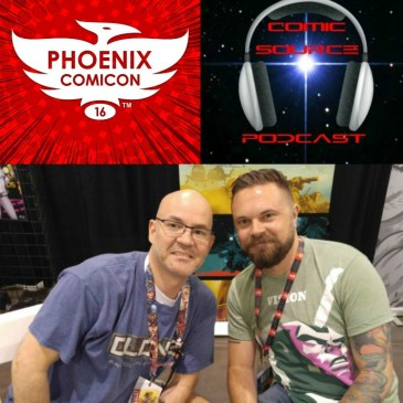 The Comic Source Podcast Episode 110 Phoenix Comicon Interview Mitch Gerads