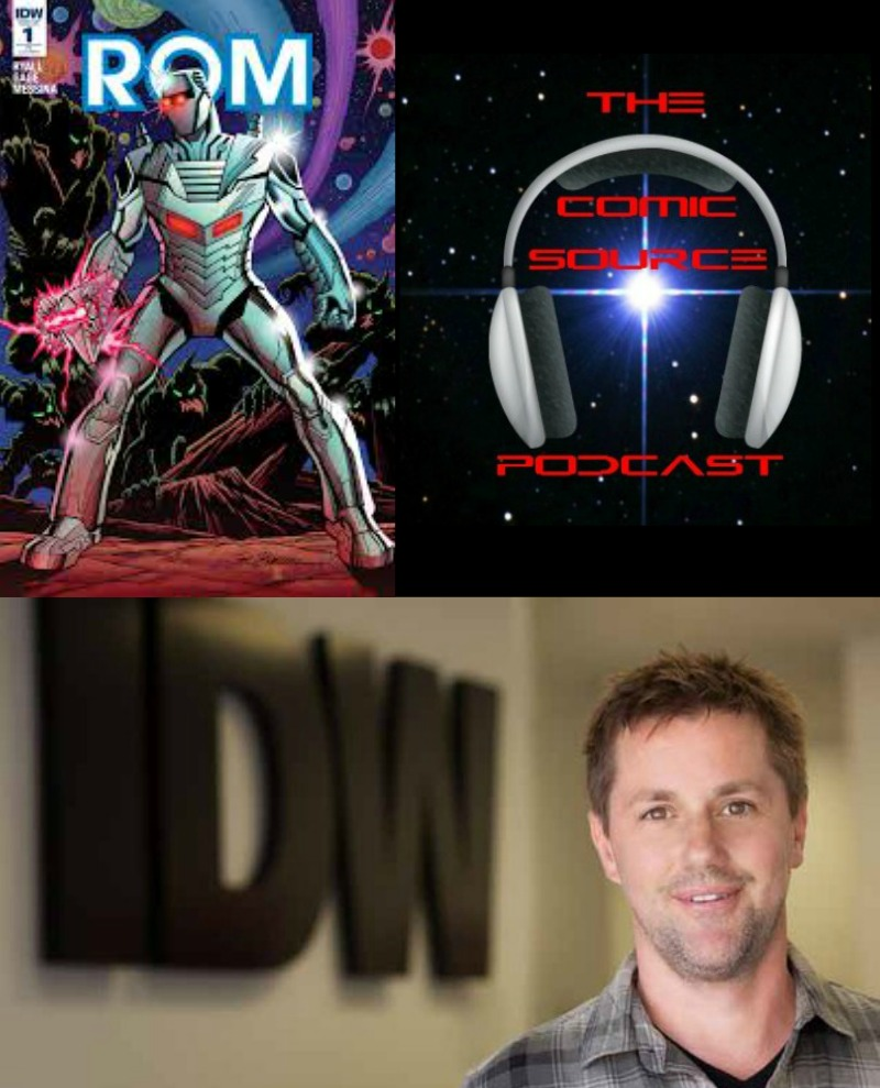 The Comic Source Podcast Episode 116 Chris Ryall Rom Interview