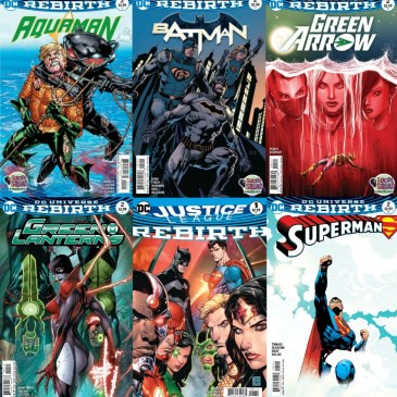 The Comic Source Podcast Episode 126 Comic Talk & DC Rebirth Week 6