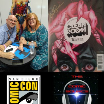 The Comic Source Podcast Episode 133 San Diego Sound Bytes; Gail Simone
