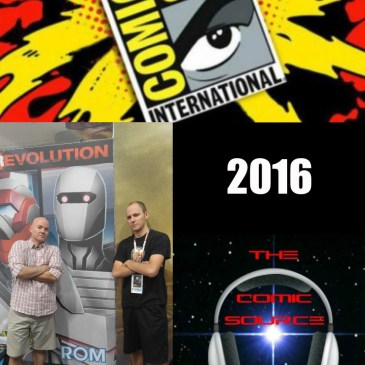 The Comic Source Podcast Episode 130 SDCC Quick Wrap