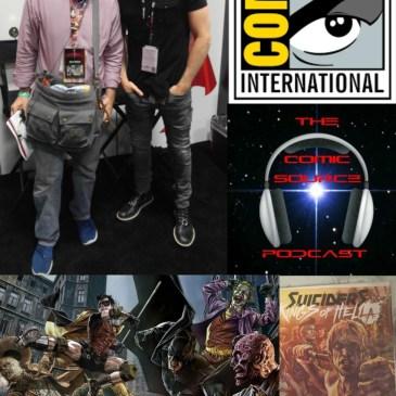 The Comic Source Podcast Episode 138 San Diego Sound Bytes; Lee Bermejo