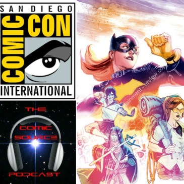 The Comic Source Podcast Episode 137 San Diego Sound Bytes; Hope Larson & Rafael Albuquerque