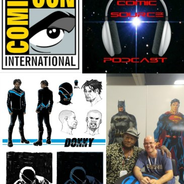 The Comic Source Podcast Episode 141 San Diego Sound Bytes; Gary Phillips