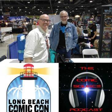 The Comic Source Podcast Episode 157 LBCC Marv Wolfman Interview