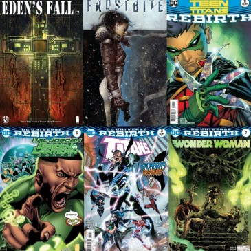 The Comic Source Podcast Episode 166 Frostbite #1, Eden's Fall #'s 1-2 and DC Rebirth for September 28th