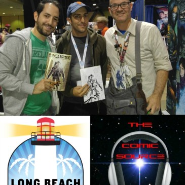 The Comic Source Podcast Episode 167 Zach Kaplan & Chris Northrop LBCC Interview