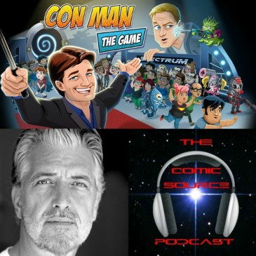 The Comic Source Episode 151 Con Man the Game with PJ Haarsma