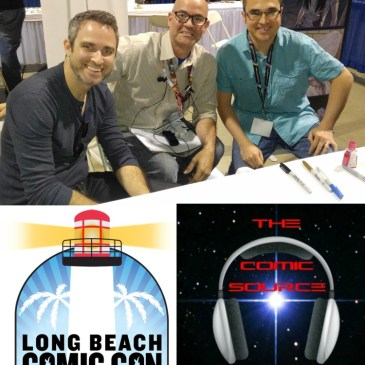 The Comic Source Podcast episode 168 Joe Eisma & Nick Spencer LBCC Interview