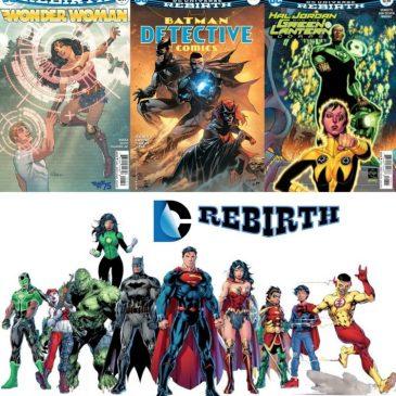 The Comic Source Podcast Episode 178 DC Rebirth for Nov 9th