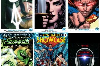 The Comic Source Podcast Episode 181 DC Books for Nov 30th & DC Rebirth Top & Bottom 3