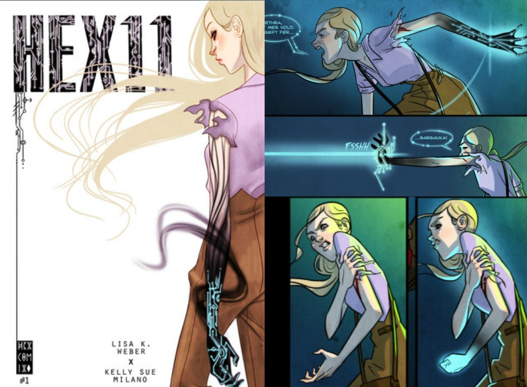 The Comic Source Podcast – Hex 11 Interview & Volume 2 Kickstarter