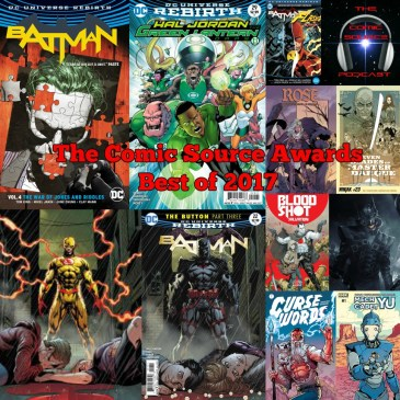 The Comic Source Podcast – Episode 214 – The Comic Source Awards Best of 2017