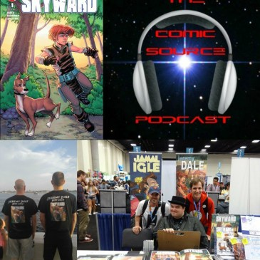 The Comic Source Podcast Episode 225 – Skyward Kickstarter Special