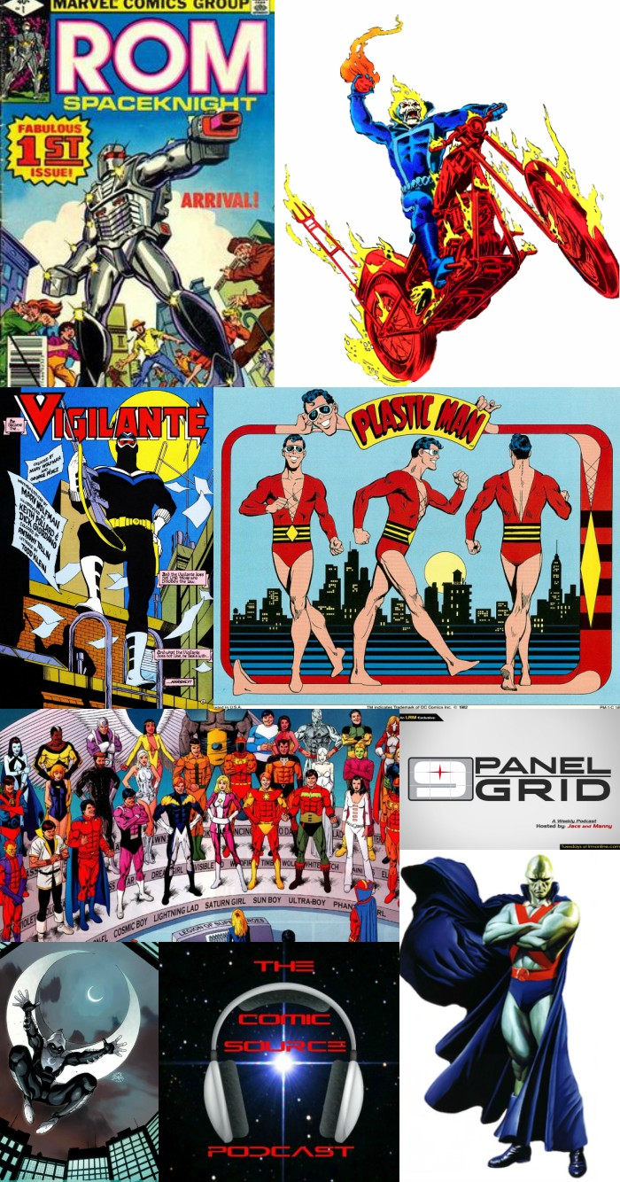 The Comic Source Episode 241 – 9 Panel Grid; Top 5 Heroes You've Never Heard Of