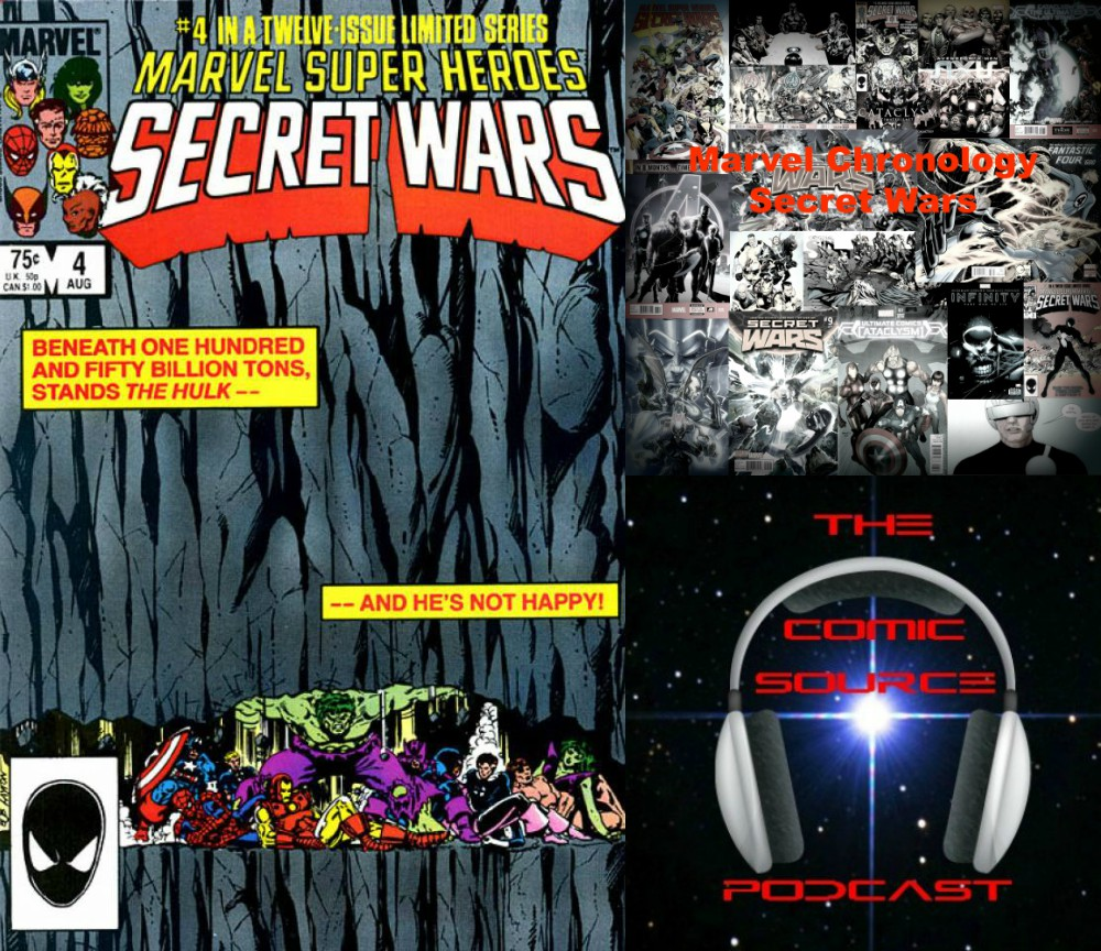 The Comic Source Podcast Episode 252 – Marvel Chronology Project – Secret Wars #4