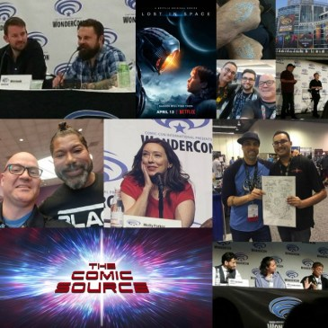 The Comic Source Podcast Episode 269 – WonderCon 2018 Wrap-Up