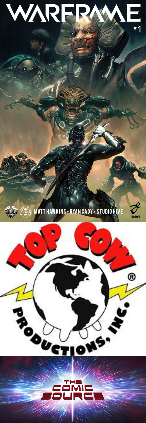The Comic Source Podcast Episode 279 – Top Cow Thursday Warframe Spotlight