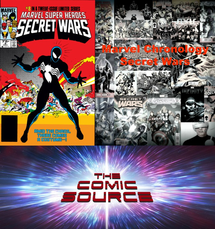 The Comic Source Podcast Episode 280 – Marvel Chronology Secret Wars #8