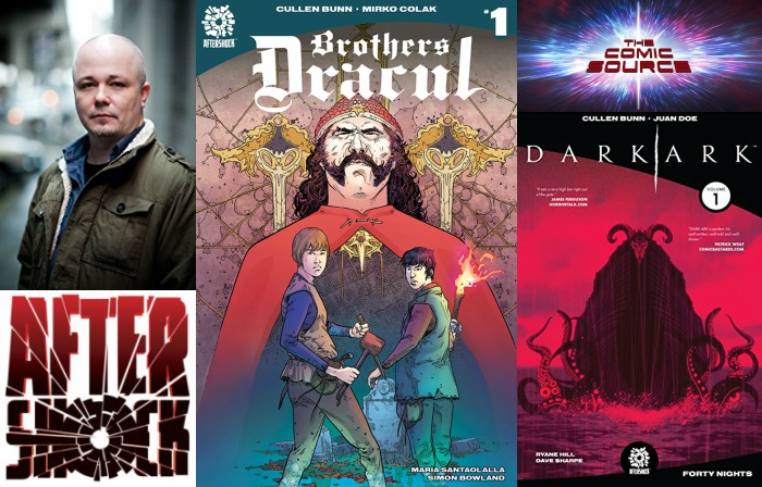 The Comic Source Podcast Episode 282 – AfterShock Monday with Cullen Bunn