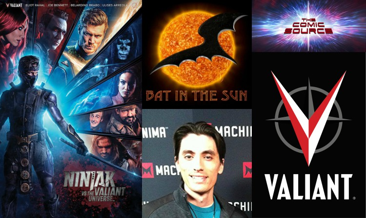 The Comic Source Podcast Episode 287 – Valiant Sunday – Ninjak vs the Valiant Universe with Aaron Schoenke
