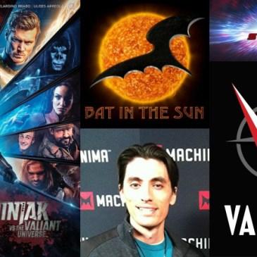 The Comic Source Podcast Episode 287 – Valiant Sunday – Ninjak vs the Valiant Universe with Aaron Schoenke