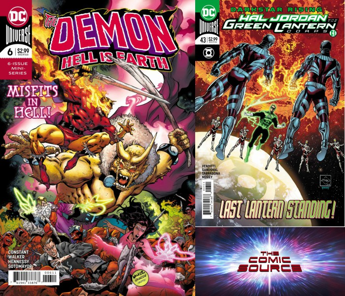 The Comic Source Podcast Episode 297 – New Comics Wednesday April 25, 2018