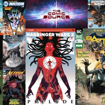 The Comic Source Podcast Episode 304 – New Comic Wednesday May 2, 2018
