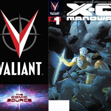 The Comic Source Podcast Episode 308 – Valiant Sunday Chronology 1 X-O Manowar #1