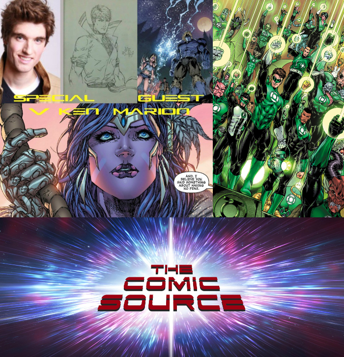 The Comic Source Episode 321 – A Chat with V Ken Marion