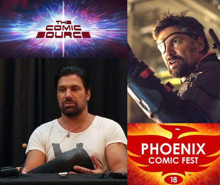 The Comic Source Podcast Episode 333 – Phoenix Files: Manu Bennett