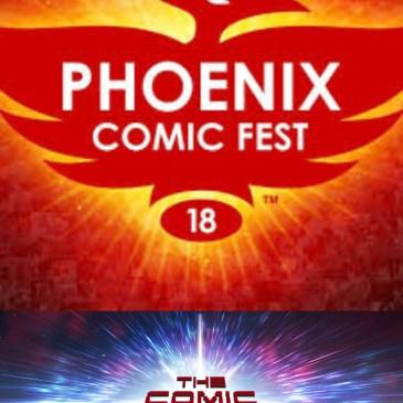The Comic Source Podcast Episode 335 – Phoenix Comic Fest Wrap-Up