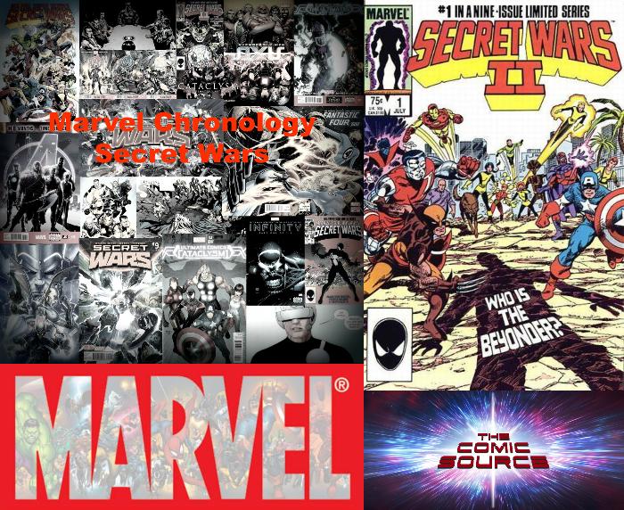 The Comic Source Podcast Episode 342 – Marvel Chronology: Secret Wars II #1