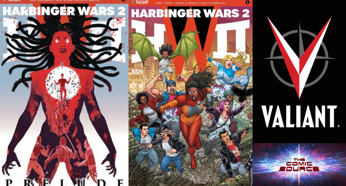 The Comic Source Podcast Episode 344 – Valiant Sunday Harbinger Wars II Prelude & #1