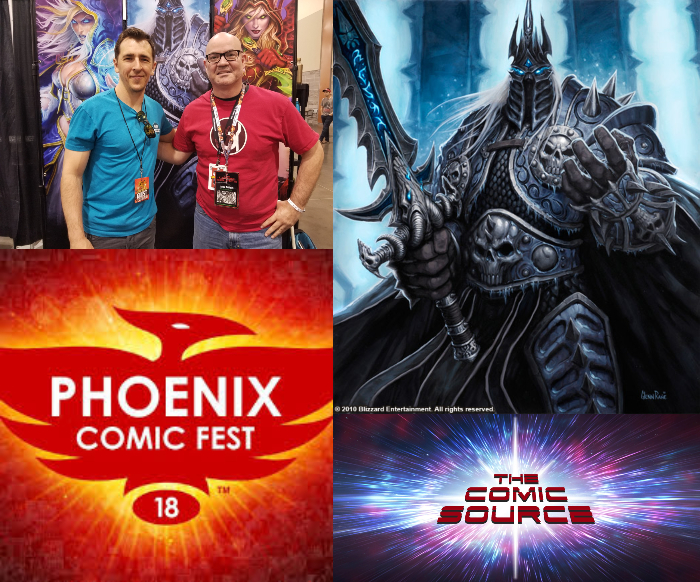 The Comic Source Podcast Episode 347 – Phoenix Files with Glenn Rane