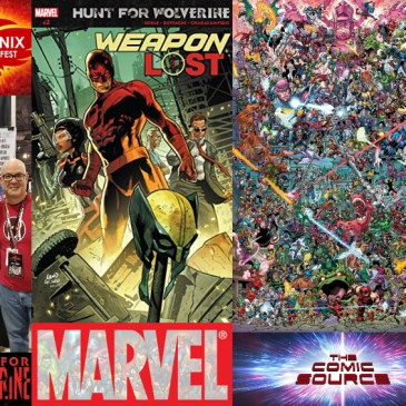 The Comic Source Podcast Episode 359 – Hunt for Wolverine Spotlight: Todd Nauck & Weapon Lost #2